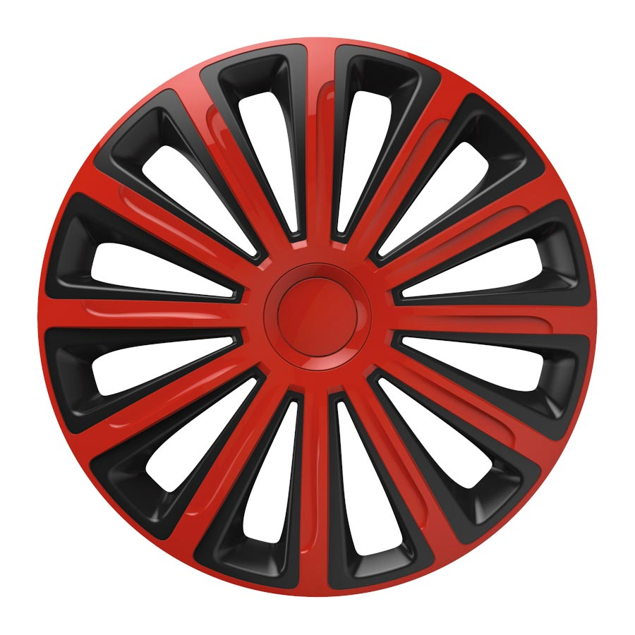 "Puklice 14"" Trend red and black V"